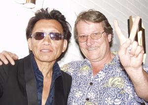 Rodriguez and John Redman, Namibia July 2004